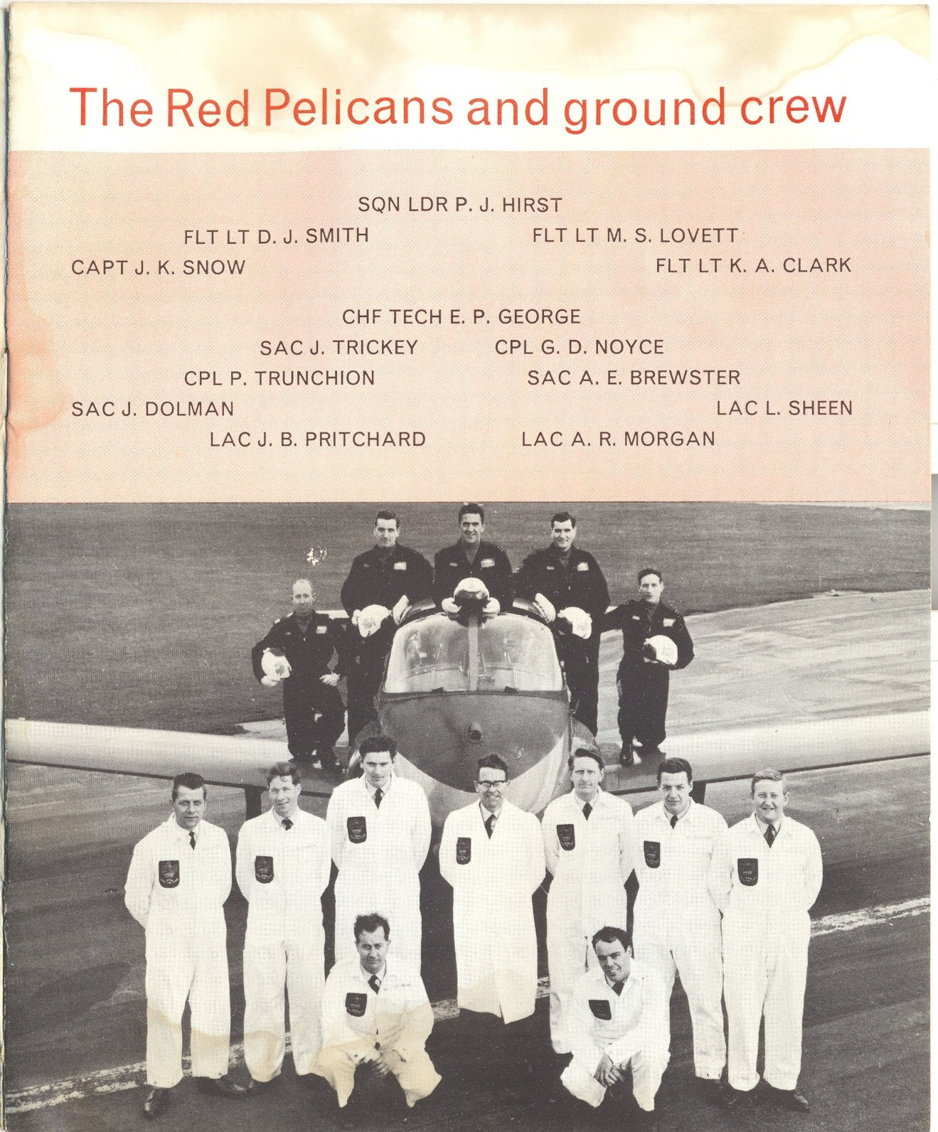 Red Pelican Air and Ground crew